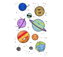 Solar System Buddies Photographic Print