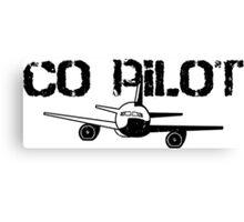 Co Pilot Canvas Print