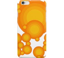The Orange 70's year styling  iPhone Case/Skin