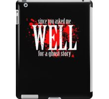 WELL... iPad Case/Skin