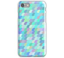 Colorful fish scale pattern iPhone Case/Skin