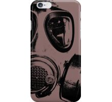 Using gas mask life is better iPhone Case/Skin