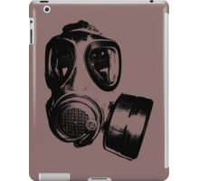 Using gas mask life is better iPad Case/Skin