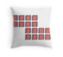 TETRIS COLLECTION Throw Pillow