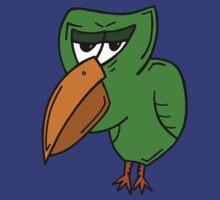 GRUMPY BIRD by kingporteous