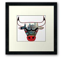 Bulls 4 Framed Print