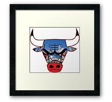 Bulls 5 Framed Print