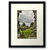 Rain Coming? Framed Print
