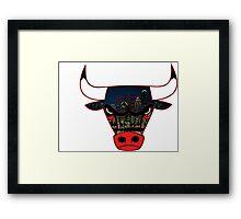 Bulls 7 Framed Print