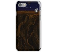The Earth and The Rabbit iPhone Case/Skin