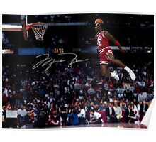 THE LEGEND MICHAEL JORDAN Poster