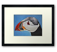 Puffin II Framed Print