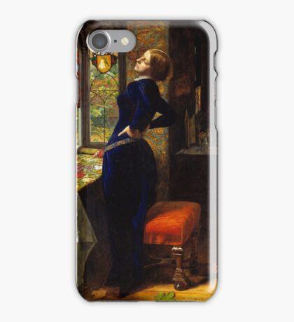 Sir John Everett Millais - Mariana, Tate Britain iPhone Case/Skin