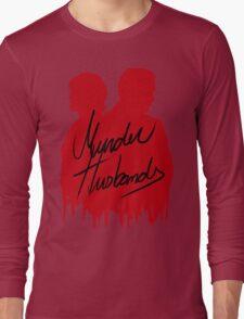 Murder Husbands [Red/Black] Long Sleeve T-Shirt