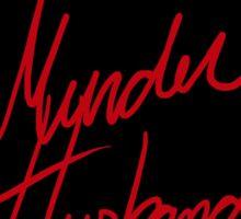 Murder Husbands [Black/Red] Sticker