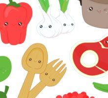 Cute food Sticker
