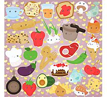 Cute food Photographic Print