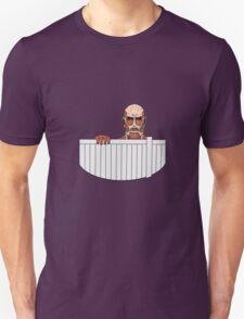 Attack on titan fence design Unisex T-Shirt