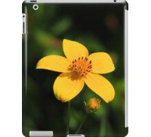 Yellow Wildflower iPad Case/Skin