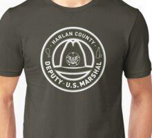 Harlan County Deputy US Marshal Badge Unisex T-Shirt