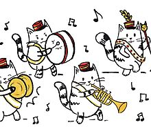 Meow-ching Band! by Calista Douglas
