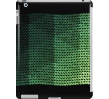 wavy knitted shapes geometry iPad Case/Skin