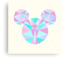 Crystal Mouse Canvas Print
