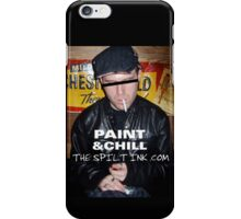 THE SPILT INK. PAINT & CHILL iPhone Case/Skin