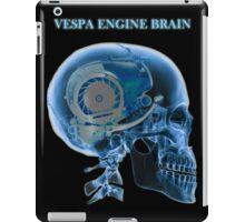 vespa engine brain skull iPad Case/Skin
