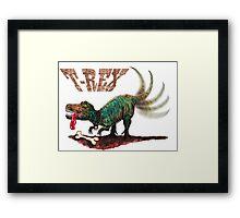 Trex t-rex Framed Print