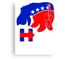 Eeyore for Hillary Canvas Print