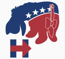Eeyore for Hillary by westonoconnor