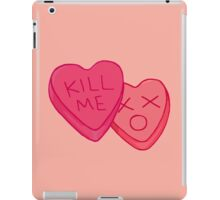 Kill Me Candy Hearts iPad Case/Skin
