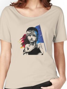 les mis Women's Relaxed Fit T-Shirt
