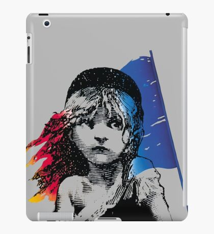 les mis iPad Case/Skin