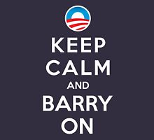 Keep Calm and Barry On Unisex T-Shirt