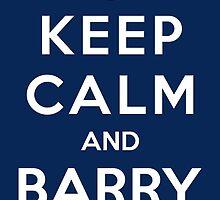 Keep Calm and Barry On by Propaganda Fashion