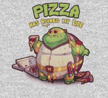 Teenage Mutant Ninja Turtles - Fat Michelangelo One Piece - Long Sleeve