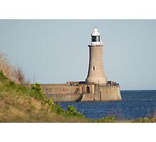 North Pier Lighthouse Photographic Print
