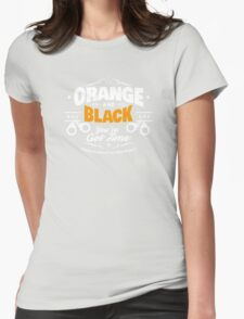 Orange is the new black Womens Fitted T-Shirt