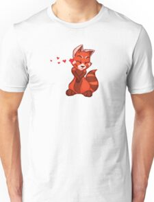 My Better Half - Red Panda (right) Unisex T-Shirt