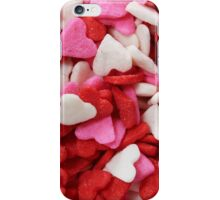 Heart sprinkles iPhone Case/Skin