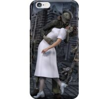 Zombies Kiss  iPhone Case/Skin