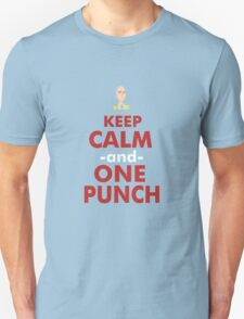 KEEP CALM AND ONE PUNH BRO T-Shirt