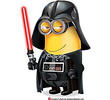 Minion Darth Vader Photographic Print