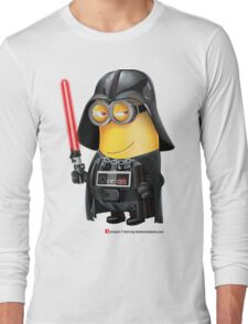 Minion Darth Vader Long Sleeve T-Shirt
