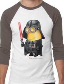 Minion Darth Vader Men's Baseball ¾ T-Shirt