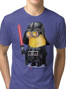 Minion Darth Vader Tri-blend T-Shirt