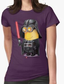 Minion Darth Vader Womens Fitted T-Shirt