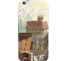 Paper city iPhone Case/Skin